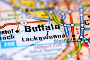 Word Buffalo on Map