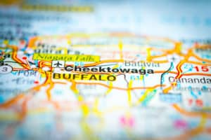 Cheektowaga on a Map
