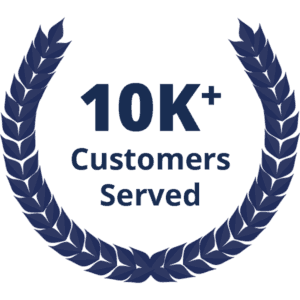 10K+ Customers Served