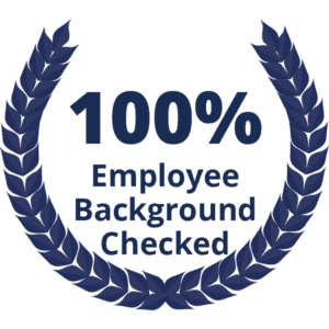 100% Employee Background Checked