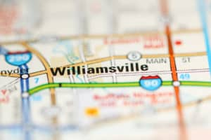 Williamsville, NY on map