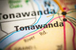 Tonawanda, NY on map