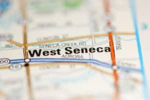 West Seneca NY on map