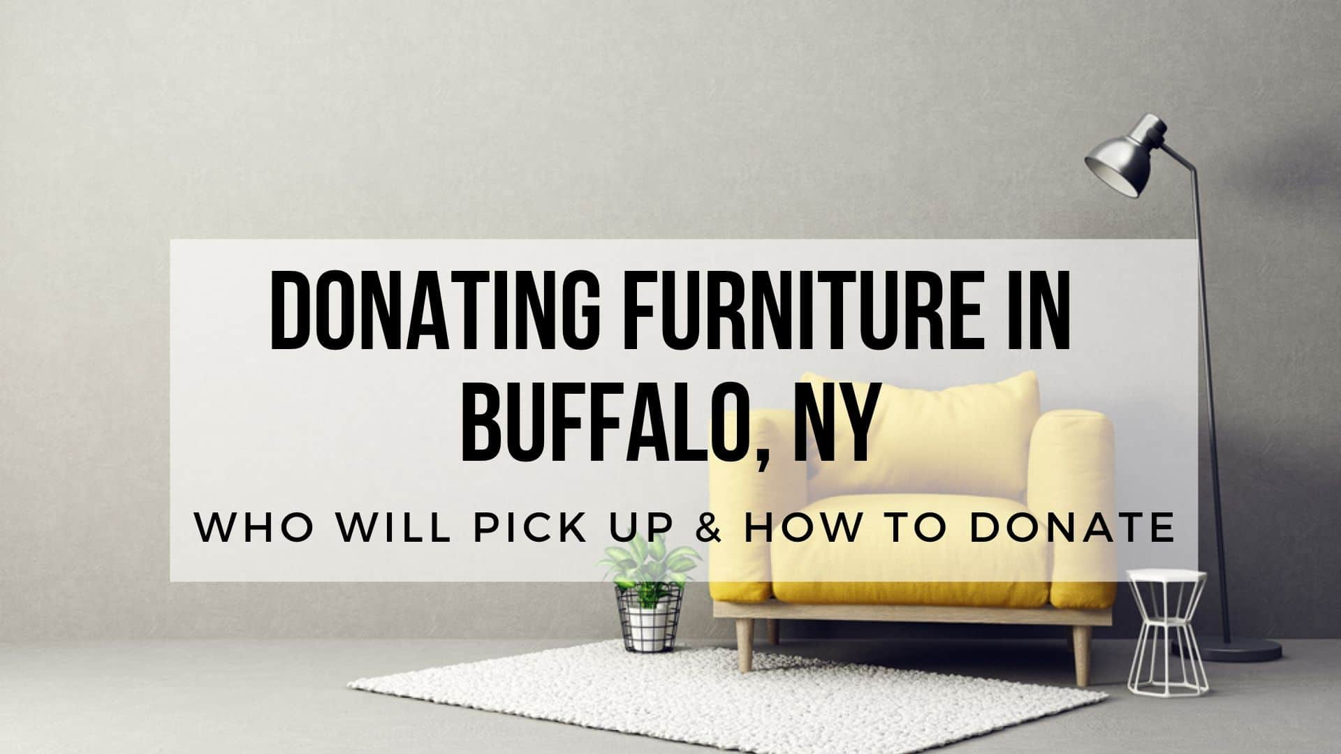 Donating Furniture in Buffalo NY