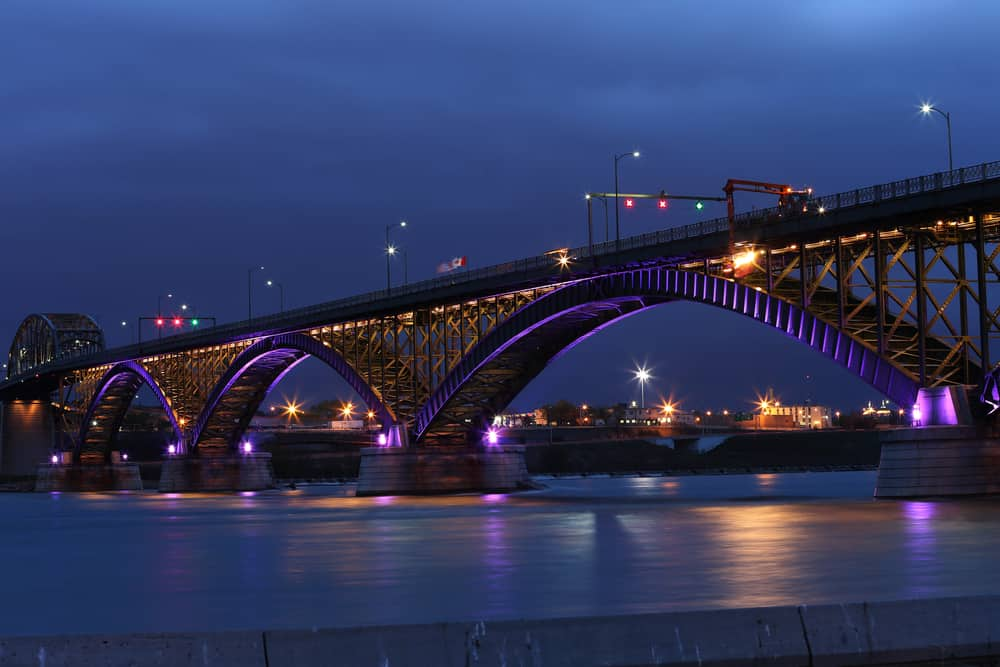 Peace Bridge located in Buffalo, NY