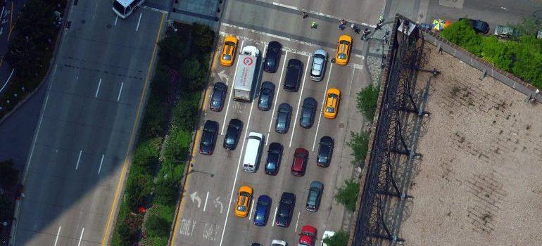 New York street